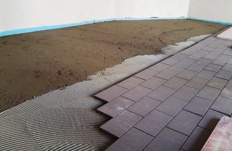 Fliesen erb r ttelboden - Fliesen fur garage ...